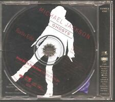 "MICHAEL JACKSON ""Ghosts"" 1 Track Promo CD"