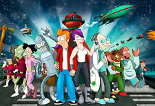 FUTURAMA POSTER - A3 SIZE 297X420MM - BUY 2 GET A 3RD FREE! (1) UK SELLER