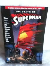 THE DEATH OF SUPERMAN GRAPHIC NOVEL 1ST PRINT Used