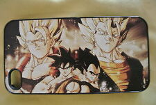 USA Seller Apple iPhone 4 & 4S Anime Phone case Dragon Ball Z Goku & Vegeta