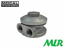 3/4UNF MOCAL SIDE EXIT REMOTE OIL FILTER TAKE OFF PLATE FORD VW ROVER V8 MLR.YL