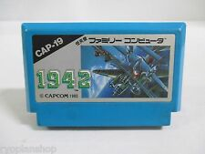 NES -- 1942 -- Famicom. Japan game. Work fully. 10139