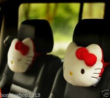 Hello Kitty Auto Car Seat Head Rest Cushion Pillows Neck Rest Pillows 1pcs