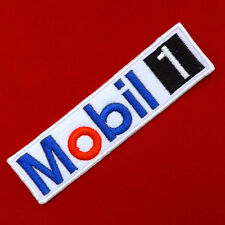 1PC. MOBIL 1 AUTO LUBE RACING OIL MOTOR EMBROIDERED IRON ON SEW PATCH BADGE ARM