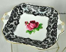 Lovely Royal Albert SENORITA Bone China SQUARE NUT DISH Made In England RARE