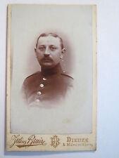 Dieuze & Mörchingen-soldado en uniforme-Regimiento nº 138/CDV