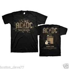 AC/DC Rock Or Bust OFFICIAL Europe 2016 Tour T-Shirt DOUBLESIDED Guns n Roses
