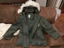 USGI Military Parka Jacket Coat N-3B N3B Extreme Cold Weather ECW Large NEW