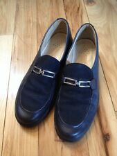 ECCO Womens Leather Shoes Size EU41/ US 9.5 Black Loafers
