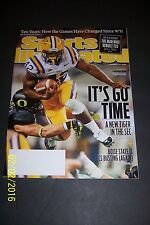 2011 Sports Illustrated LSU TIGERS Michael FORD New TIGER IN THE SEC Its GO TIME