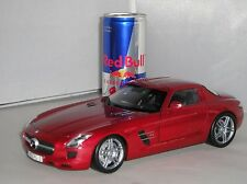 Minichamps 100 039020 Mercedes Benz SLS AMG 2010 Red Ltd Edition Car 1:18 PMA