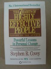 The 7 Habits of Highly Effective People By Stephen Covey Audio Book on Cassette