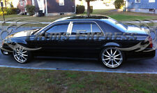 2000-2005 Cadillac DeVille 6Pc Chrome Pillar Post Stainless Steel