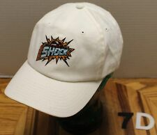 AMERICAN NEEDLE DETROIT SHOCK WNBA HAT WHITE ADJUSTABLE IN VERY GOOD CONDITION