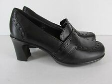 Earth Kalso Womens Size 6 Black Loafers Heels Shoes Pumps Lantana