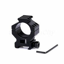Tactical 30mm 3 Slot Torch Scope Mount Ring for 20mm Weaver Picatinny Rail Hunt