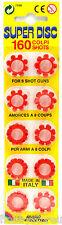 Ring Caps Cap Gun Caps Fits all 8 Shot Toy Cap Gun Toy Ring Caps 160 Shots New