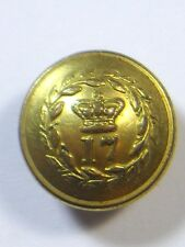 17th (Leicestershire) Regiment of Foot Officers Victorian  Coatee Button.