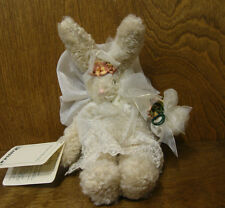 Hen In The Holly EMILY The RABBIT with WINGS, NEW from Retail Store with Tags 9""