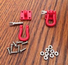 Red Scale Shackle Tow Anchor 1/10 Hitch RC Metal ChoiceRC