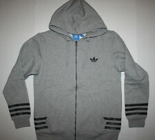 Adidas Originals Street Graphic Full Zip Hoodie AZ1119 Men's US Medium (M) Gray