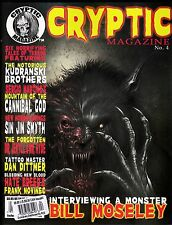 CRYPTIC MAGAZINE # 4 COMICS BILL MOSELEY ALLAN KOSZOWSKI KUDRANSKI BROTHERS