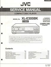 JVC Original Service Manual für XL-E 300