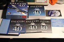 Falcon 4.0 Microprose Flight Simulator Computer Game - FRENCH