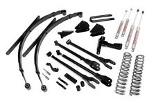 "Ford F250 F350 8"" 4-Link Suspension Lift w/ Leaf Springs 2005-2007 4WD Diesel"