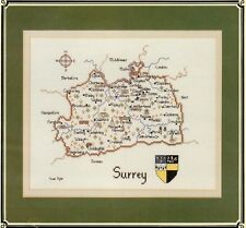 Surrey - Britain in Stitches - Heritage Stitchcraft Chart New