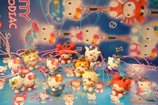 12 HELLO KITTY MINI SWING ZODIAC  ZODIACO NUOVE GASHAPON SANRIO PERFETTE