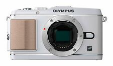 Olympus Pen E-P3 Compact System Camera - White Body Only