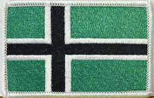 VINLAND FLAG PATCH With VELCRO® Brand Fastener TYPE O NEGATIVE VIKING NORWAY