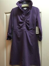 NEW Tehama Outdoor Purple Heather Stretch Dress Yoga Golf Active Sport Size S
