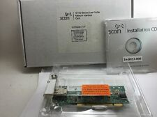 New 3Com 3CR990B-LP-97 10/100 Secure  Network Interface Adapter Lan Card