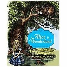 Alice in Wonderland Giant Poster and Coloring Book by Lewis Carroll (2012,...