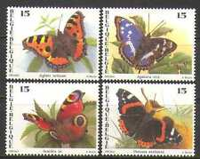 Belgium 1993 Butterflies/Insects/Nature 4v set (n22515)