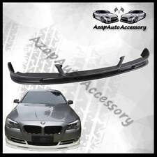Fit 2011-2013 BMW F10 5-Series 528i 535i 550i Front Bumper Lip Spoiler Black