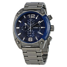 Diesel Overflow Blue Dial Chronograph Mens Watch DZ4412