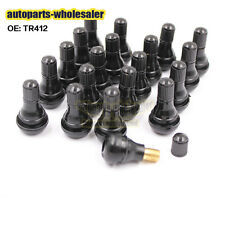 TR-412 20PCS/lot Industrial Replacement Tire Valve Stems TS412 Truck Car Rubber