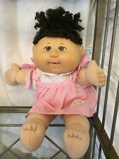 2004 Play Along Cabbage Patch Kids Doll Curly Brown Hair Signed Xavier Roberts