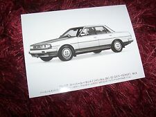 Photo de presse / Original Press photo TOYOTA Cresta 1984 //