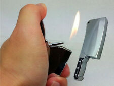 Model of kitchen knife butane lighter cigarette metal lighter funny design rare
