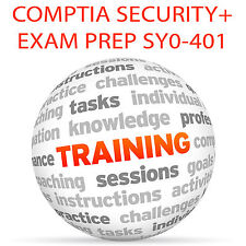 CompTIA security + exam prep SY0-401 - video training tutorial dvd