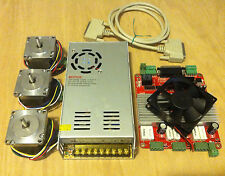 3Axis CNC Kit - TB6560-3v2 Driver Board, 3x NEMA 23 Stepper Motor, 24V 14.6A PSU