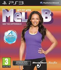 Get Fit With Mel B PS3 PlayStation 3 Brand New