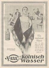 J1104 Kolnisch Wasser 4711 - Pubblicità grande formato - 1927 Old advertising