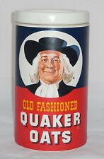 Vintage Regal China Quaker Oats Cookie Jar w Famous Cookie Oatmeal Recipe