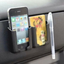 Plastic Auto Holder Storage box Car CellPhone Charger Cradle Pocket Organizer //