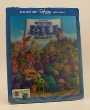 STEELBOOK Blufans Monsters University Lenticular New Region All 3D